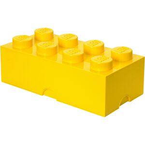 Lego Storage Brick 8 - Yellow