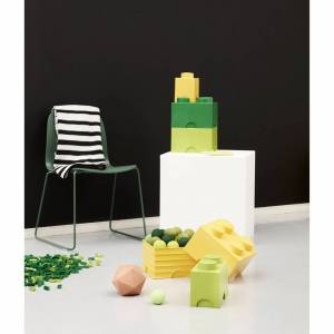 Room Copenhagen LEGO Storage Brick 4 - Yellow