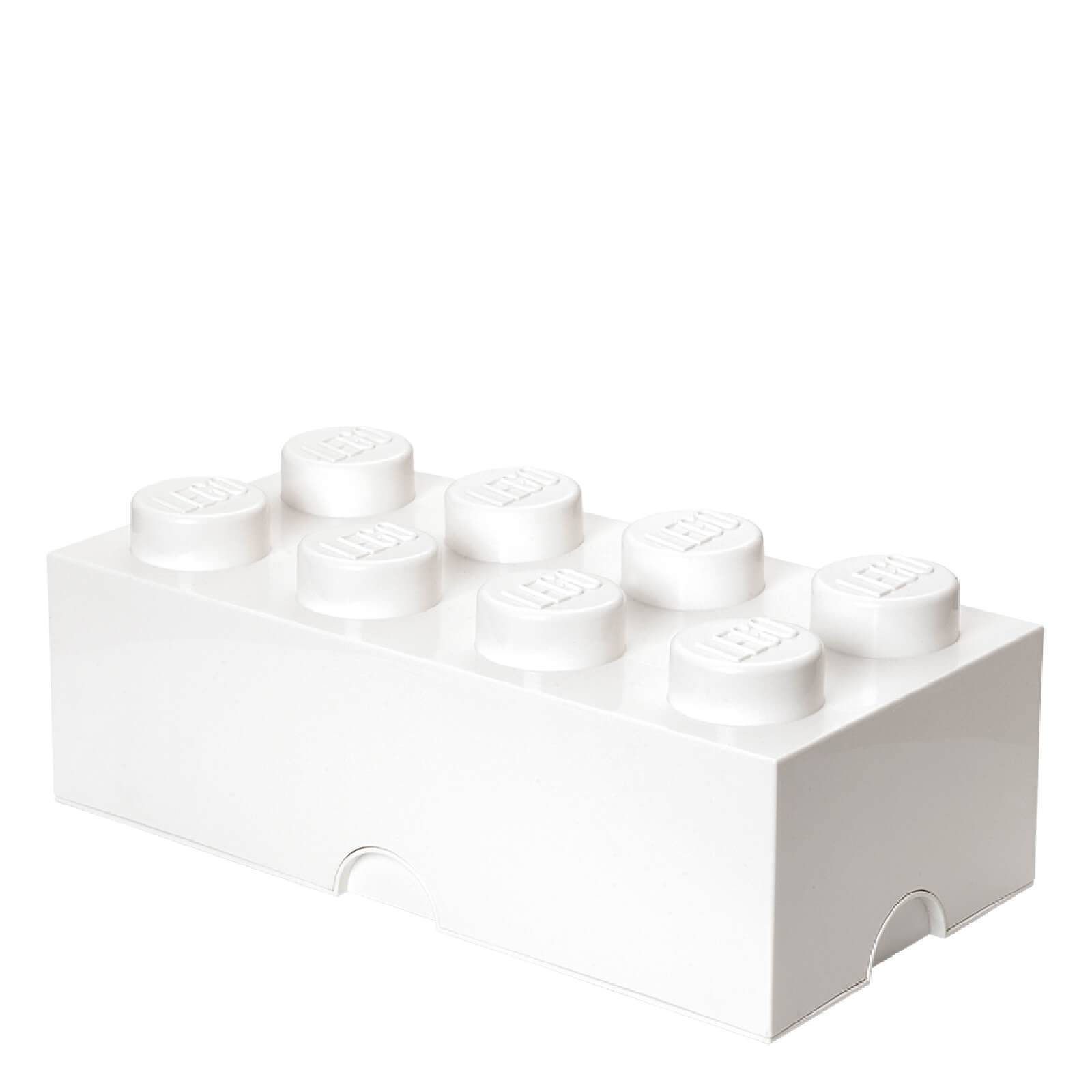 Lego Storage Brick 8 - White
