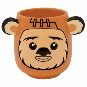 Pyramid Star Wars (Ewok) Shaped Mug