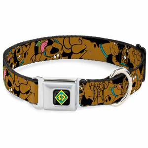 Buckle-Down Scooby-Doo! Dog Collar (Various Sizes) - S/9-15 Inches