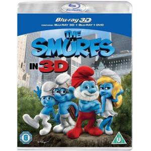 Sony The Smurfs 3D (Blu-Ray and DVD)