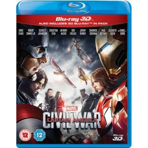 Disney Captain America: Civil War 3D (Includes 2D Version)