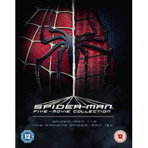 Sony The Spider-Man Complete 5-Film Boxset