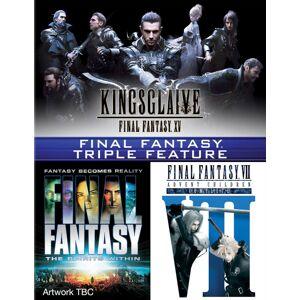 Sony Final Fantasy Triple (Kingsglaive: Final Fantasy XV, Final Fantasy: The Spirits Within, Final Fantasy VII: Advent Children)