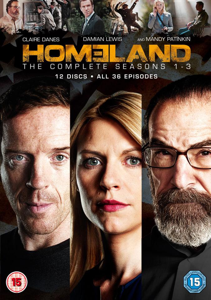 20th Century Fox Homeland - Seasons 1-3