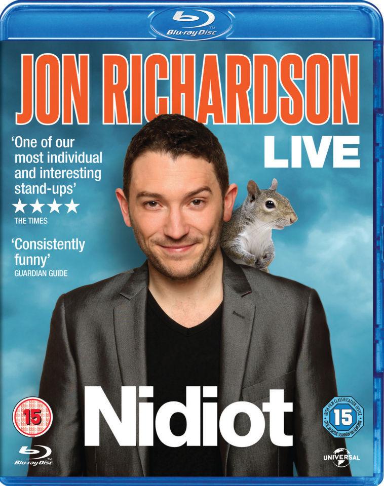 Universal Pictures Jon Richardson Live 2014 - Nidiot