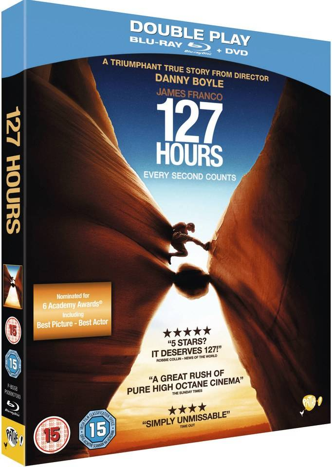20th Century Fox 127 Hours: Double Play (Includes Blu-Ray and DVD Copy)