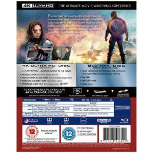 Disney Captain America The Winter Soldier - 4K Ultra HD