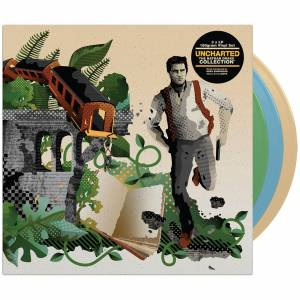 iam8bit - Uncharted: The Nathan Drake Collection Triple Coloured LP Set
