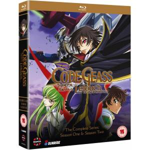 Manga Entertainment Code Geass: Lelouch of the Rebellion: Complete Series Collection