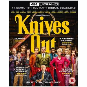 Lionsgate Home Entertainment Knives Out - 4K Ultra HD (Includes 2D Blu-ray)