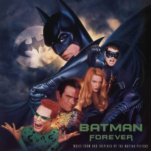 Rhino Atlantic Batman Forever Soundtrack Music From The Motion Picture LP