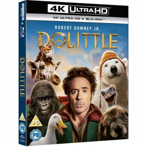 Universal Pictures Dolittle - 4K Ultra HD (Includes 2D Blu-ray)