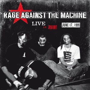 DOL Rage Against The Machine - Live In Irvine. CA June 17 1995 KROQ-FM (White Vinyl)