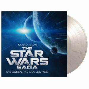 Music On Vinyl Music From The Star Wars Saga - The Essential Collection White and Black Marbeled LP