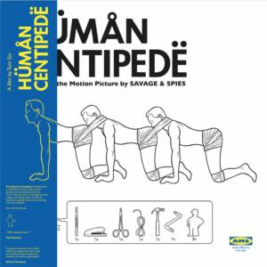 AMS Records The Human Centipede (Music From The Motion Picture) LP (Blue)