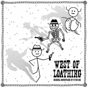 Ship To Shore Phono Co. Ship To Shore - West Of Loathing (Original Soundtrack) LP (White & Black Splatter)