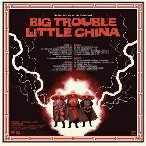Mondo Big Trouble In Little China - Original Motion Picture Soundtrack 2XLP (Black Vinyl)