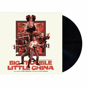Mondo Big Trouble In Little China - Original Motion Picture Soundtrack 2XLP (Black Vinyl)