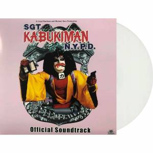 Toxic Toast Sgt. Kabukiman N.Y.P.D. (Official Soundtrack) LP (White) - Zavvi Exclusive