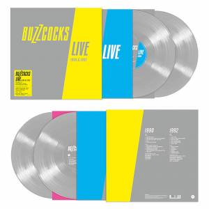 Demon Records The Buzzcocks - Live 2LP