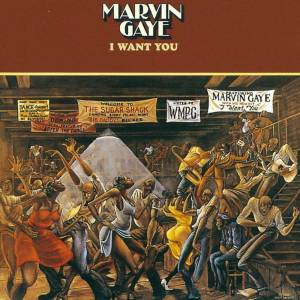 UMC Marvin Gaye - I Want You LP