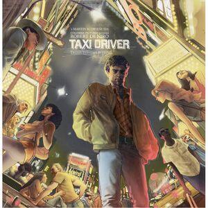 Waxwork Taxi Driver The Original Soundtrack (2LP) - Yellow Vinyl