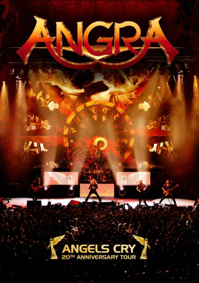 Absolute Marketing Angra: Angels Cry - 20 Anniversary Tour