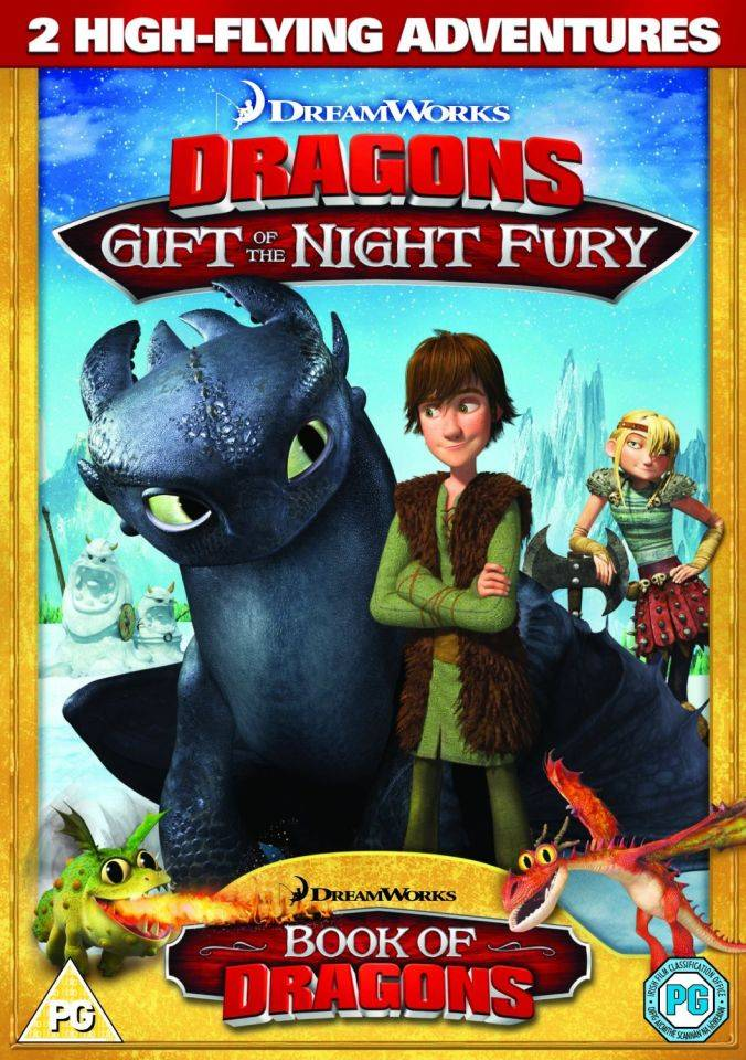 Dreamworks Dragons: Gift Of The Night Fury