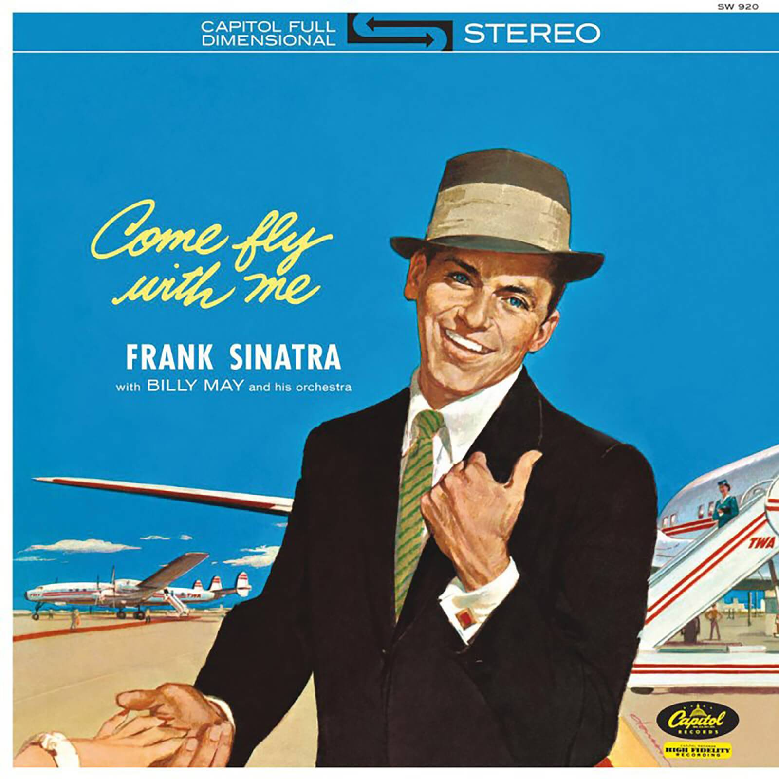 UMC - Capitol Frank Sinatra - Come Fly With Me 12 Inch LP
