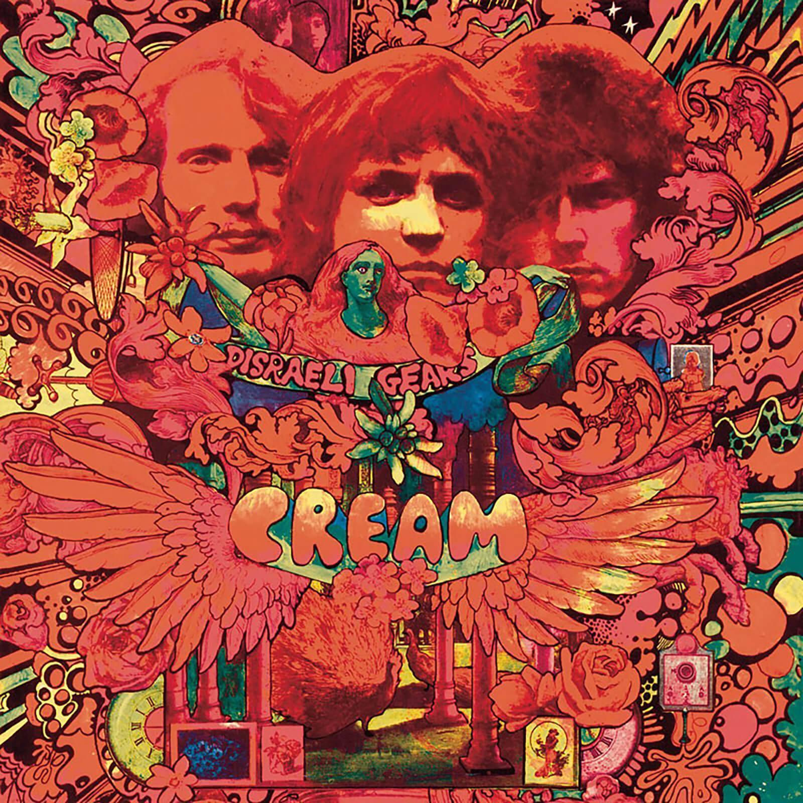 UMC Polydo Cream - Disraeli Gears 12 Inch LP