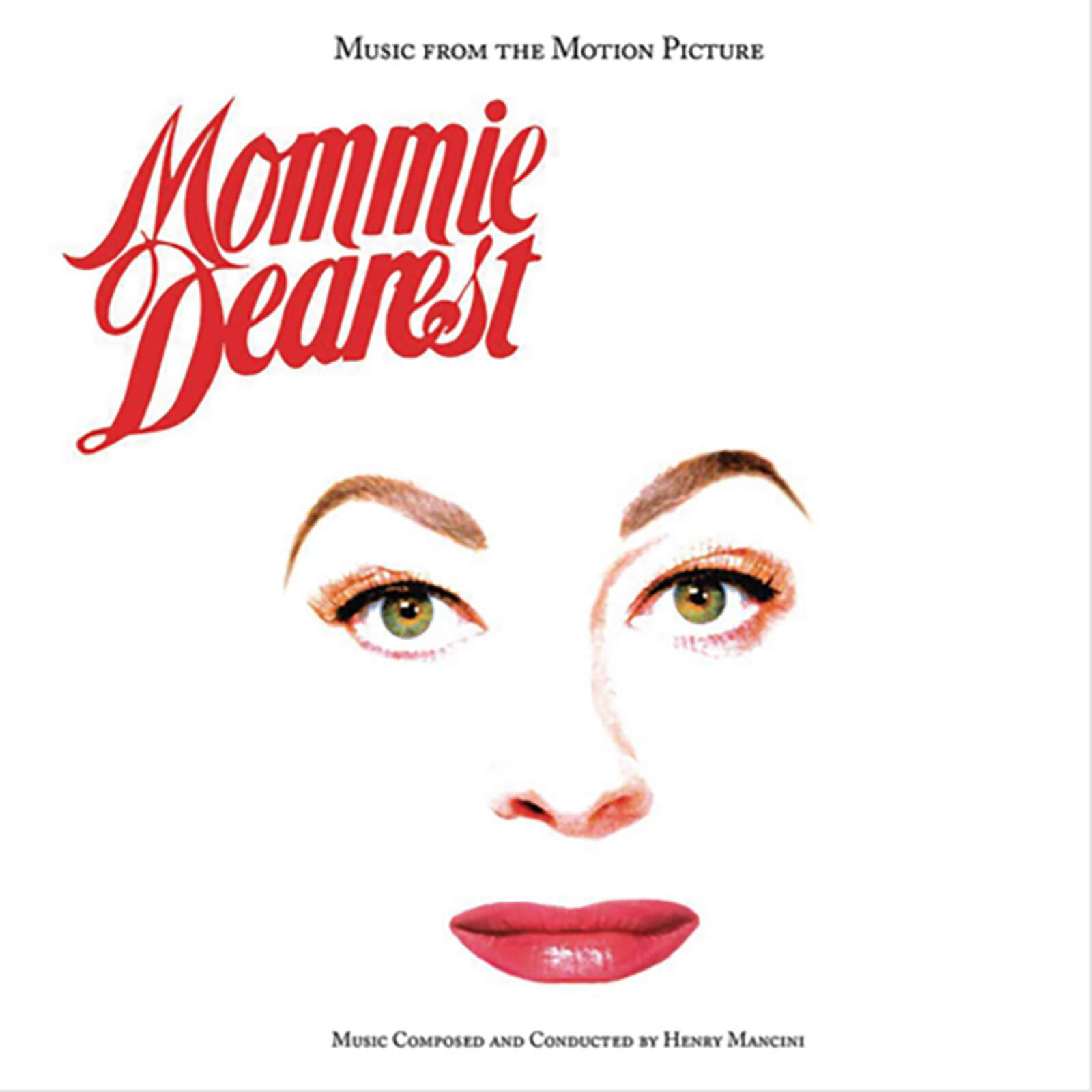 Real Gone Music Henry Mancini: Mommie Dearest--Music from the Motion Picture (Limited White Vinyl Edition) LP