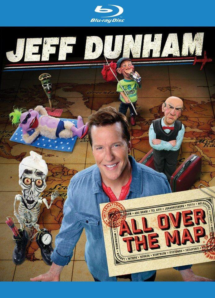 Pias Comedy Jeff Dunham - All Over the Map