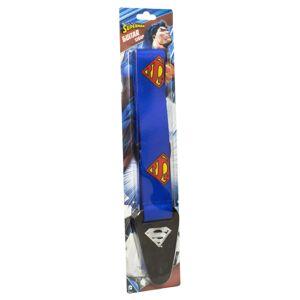 Access All Areas Superman Logo Fabric Guitar Strap