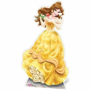 Star Cutouts Disney Princess Beauty and the Beast Belle Cut Out