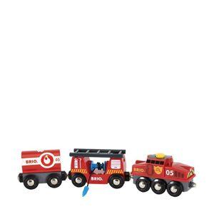 Brio Rescue Fire Train