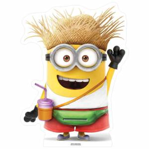 Star Cutouts Despicable Me 3: Vacation Minion with Drink Small Cut Out