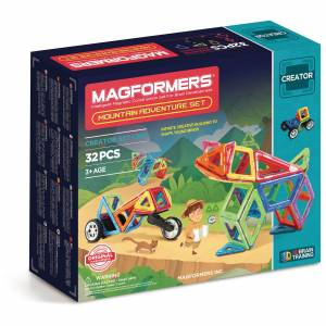 Magformers Mountain Adventure Set - 32 Pieces