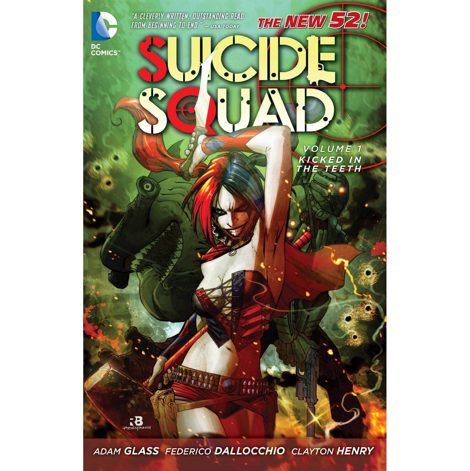 DC Comics Suicide Squad: Kicked in the Teeth - Volume 01 (The New 52) Paperback Graphic Novel