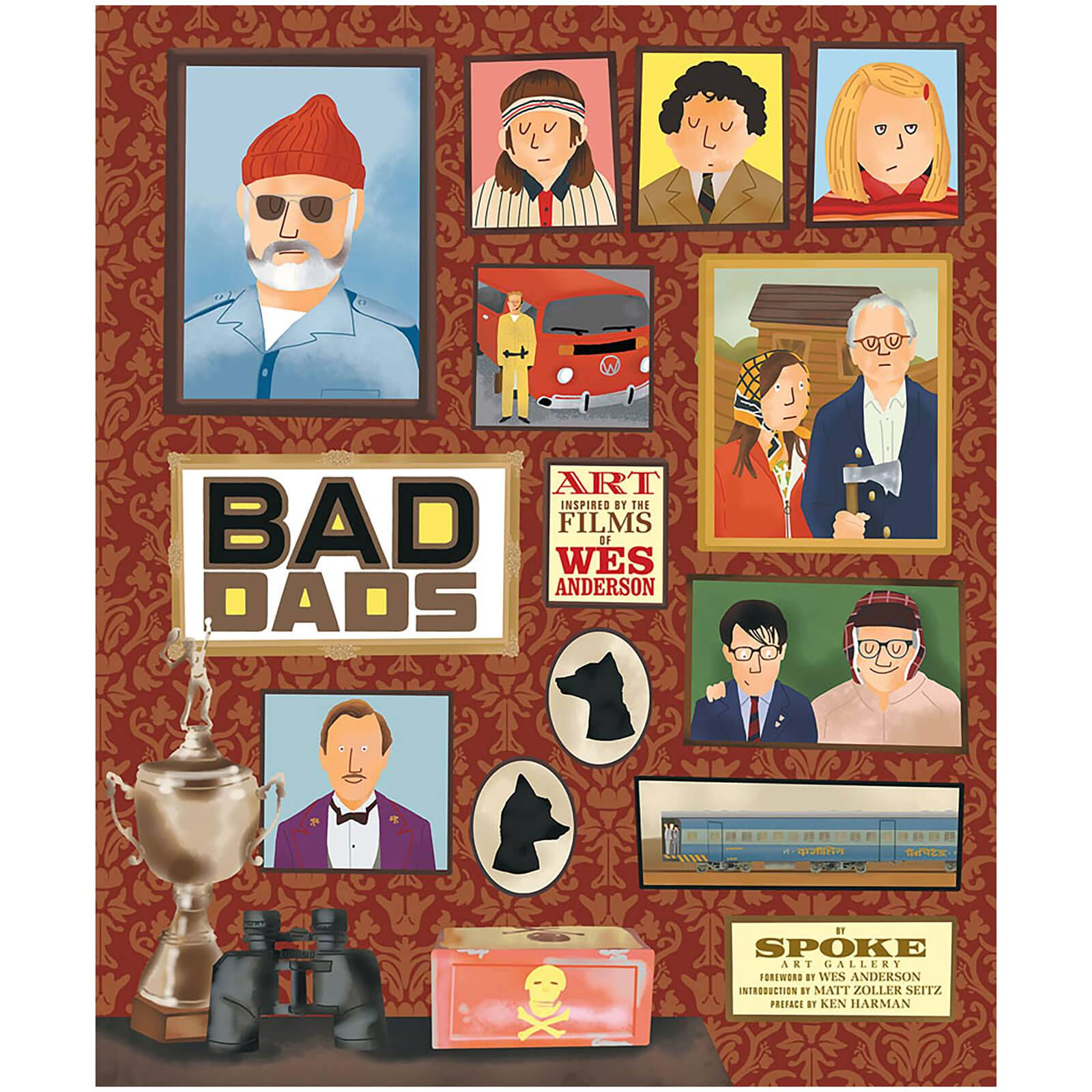 Abrams The Wes Anderson Collection: Bad Dads (Hardback)