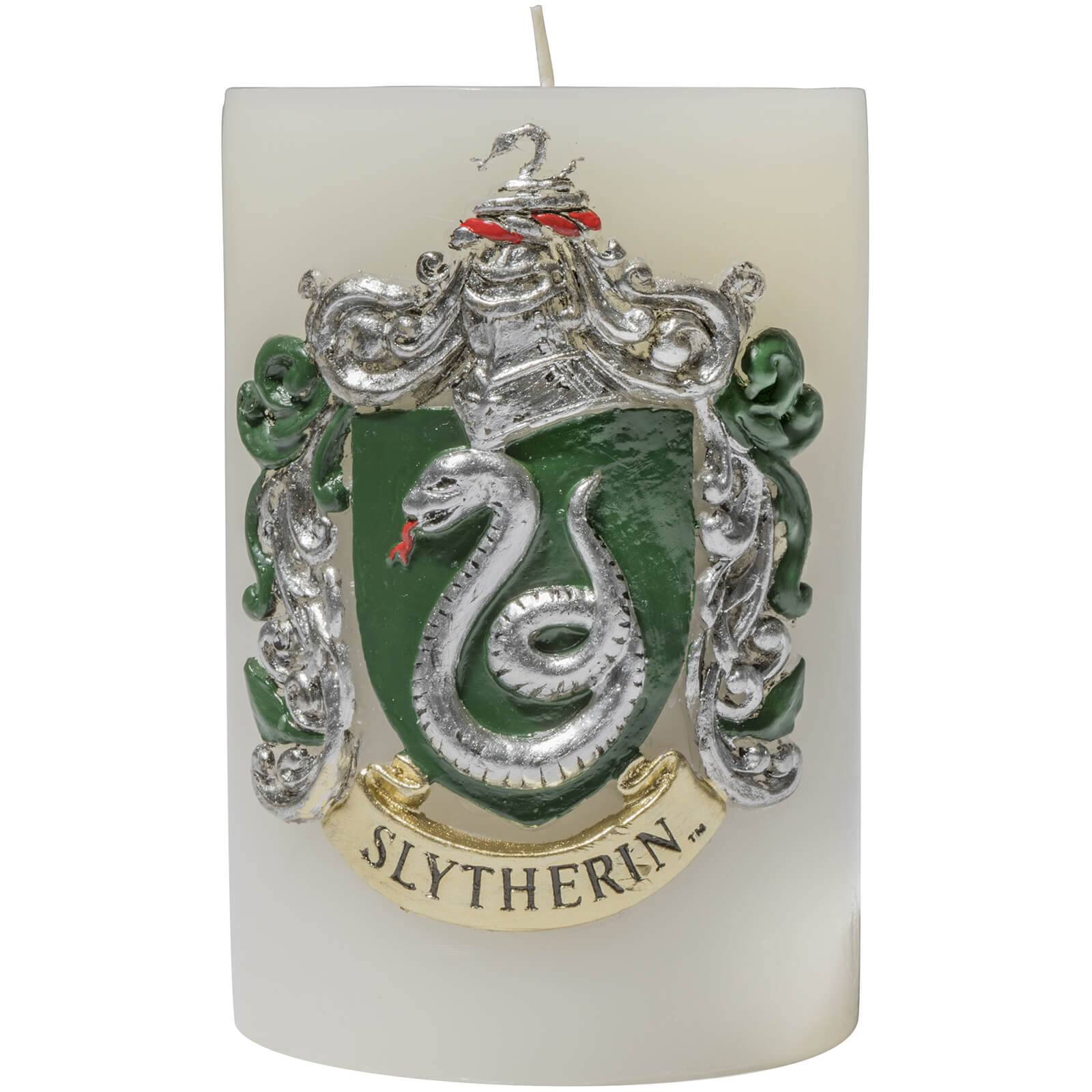 Insight Editions Harry Potter Sculpted Insignia Candle - Slytherin