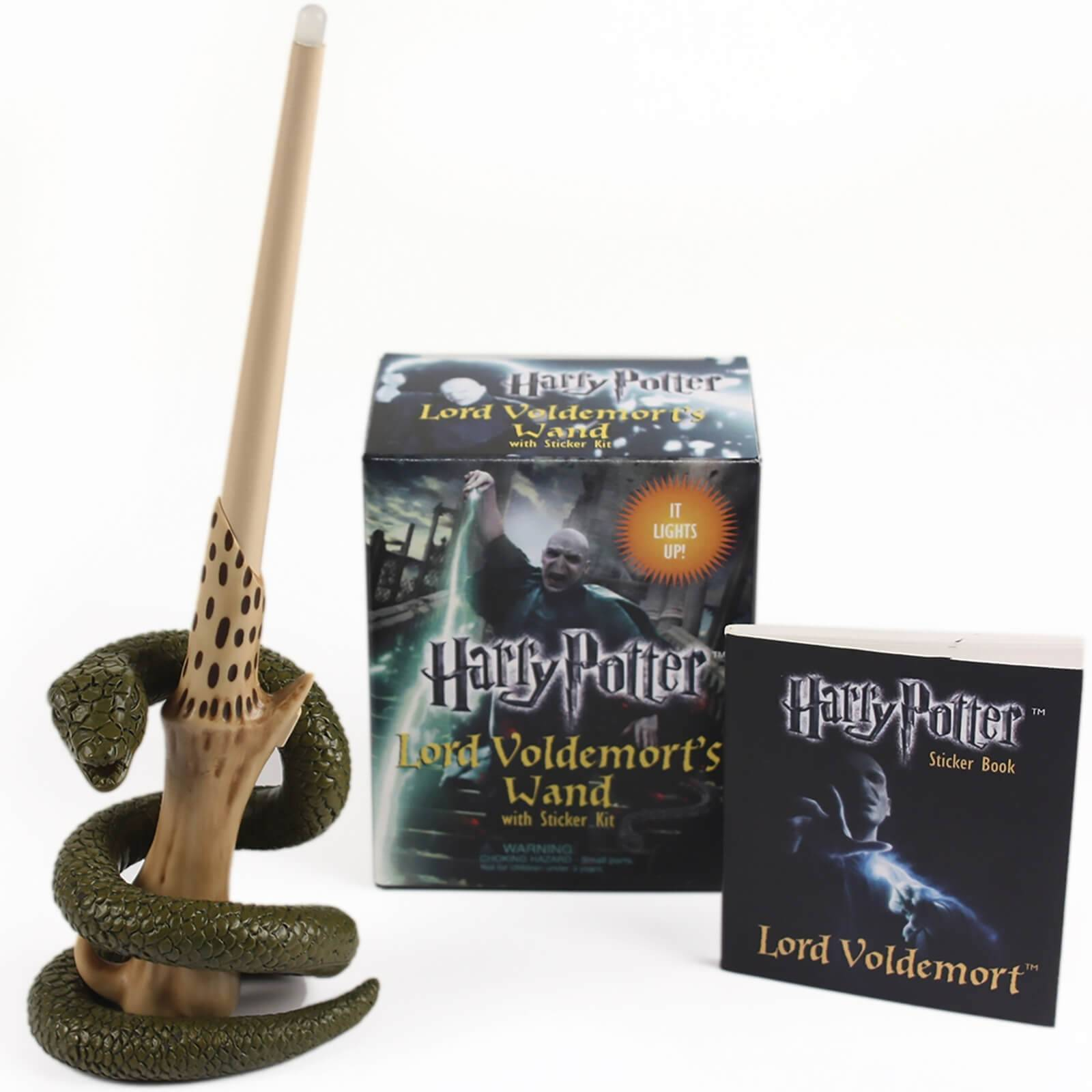 Octopus Harry Potter Voldemort's Wand with Sticker Kit