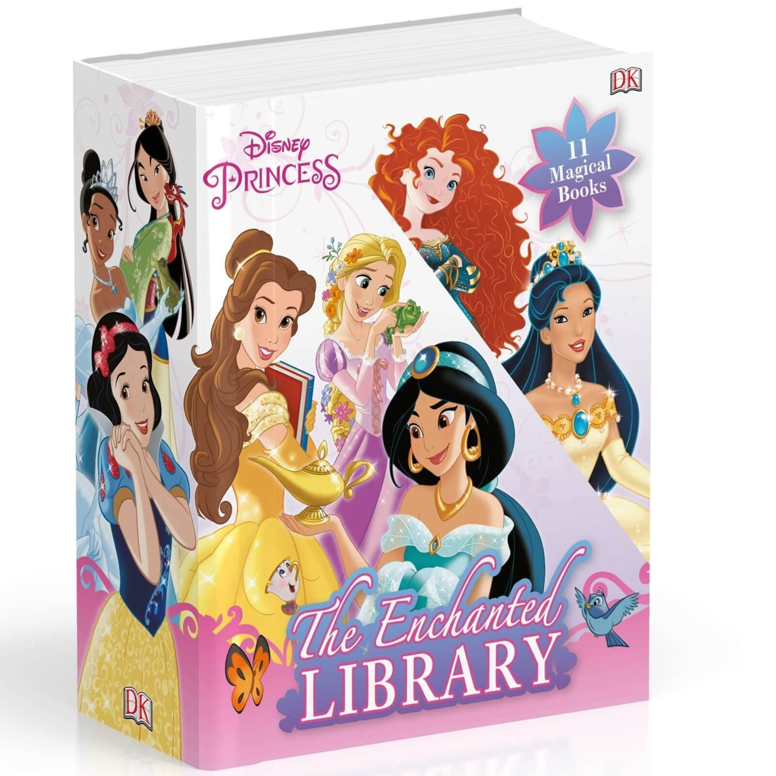 DK Publishing Disney Princess The Enchanted Library 11 Book Collection (Slipcase)