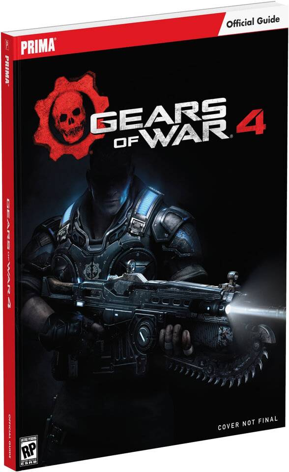 Prima Games Gears of War 4 - Standard Edition Paperback Guide