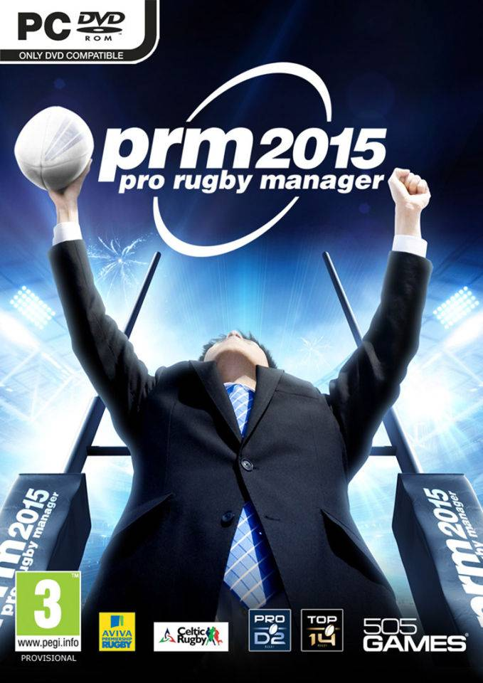 505 Games Pro Rugby Manager 2015