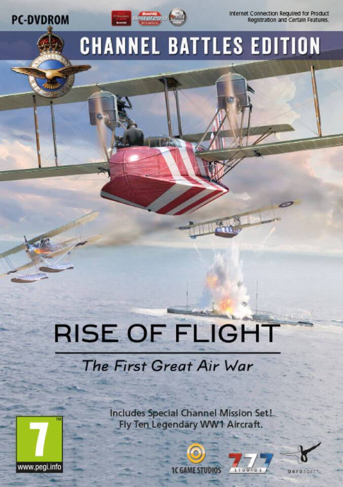 Excalibur Publishing Rise of Flight - Channel Battles Edition