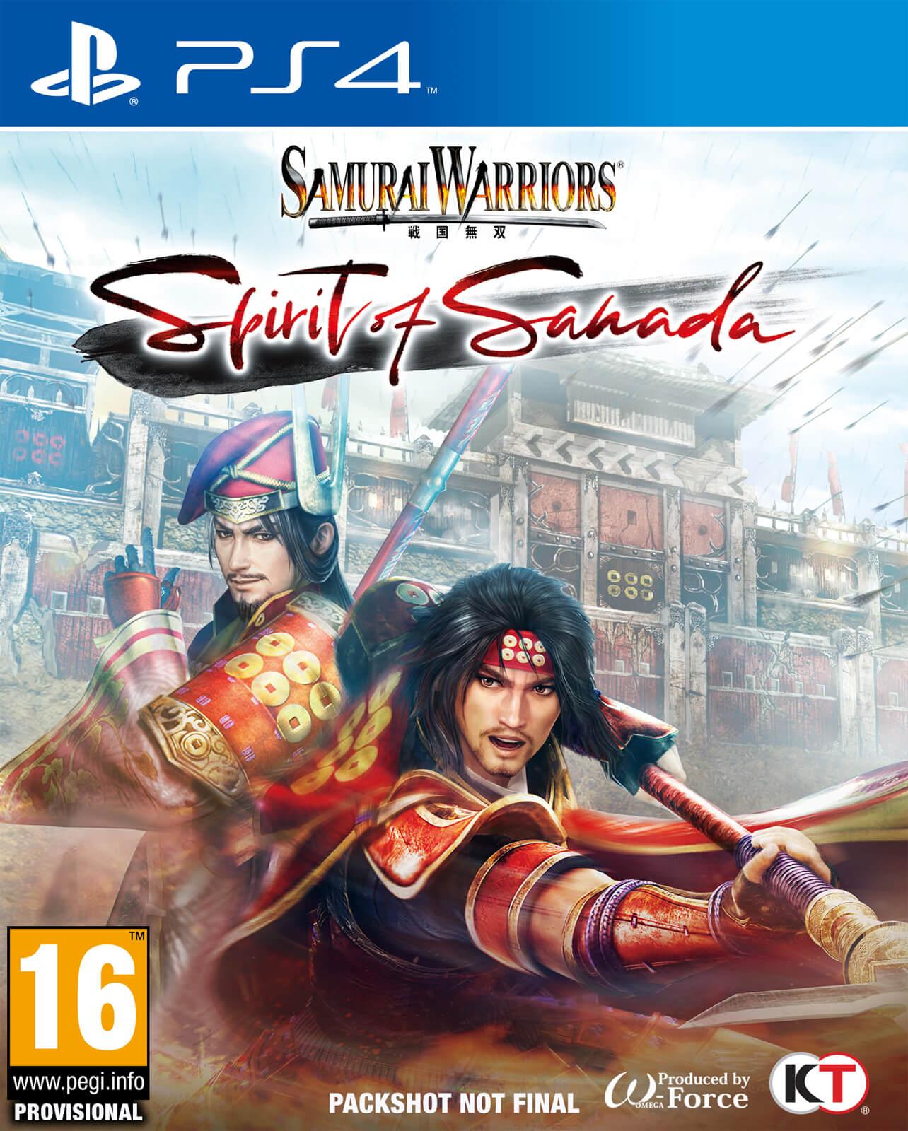 Koei Tecmo Samurai Warriors Spirit of Sanada