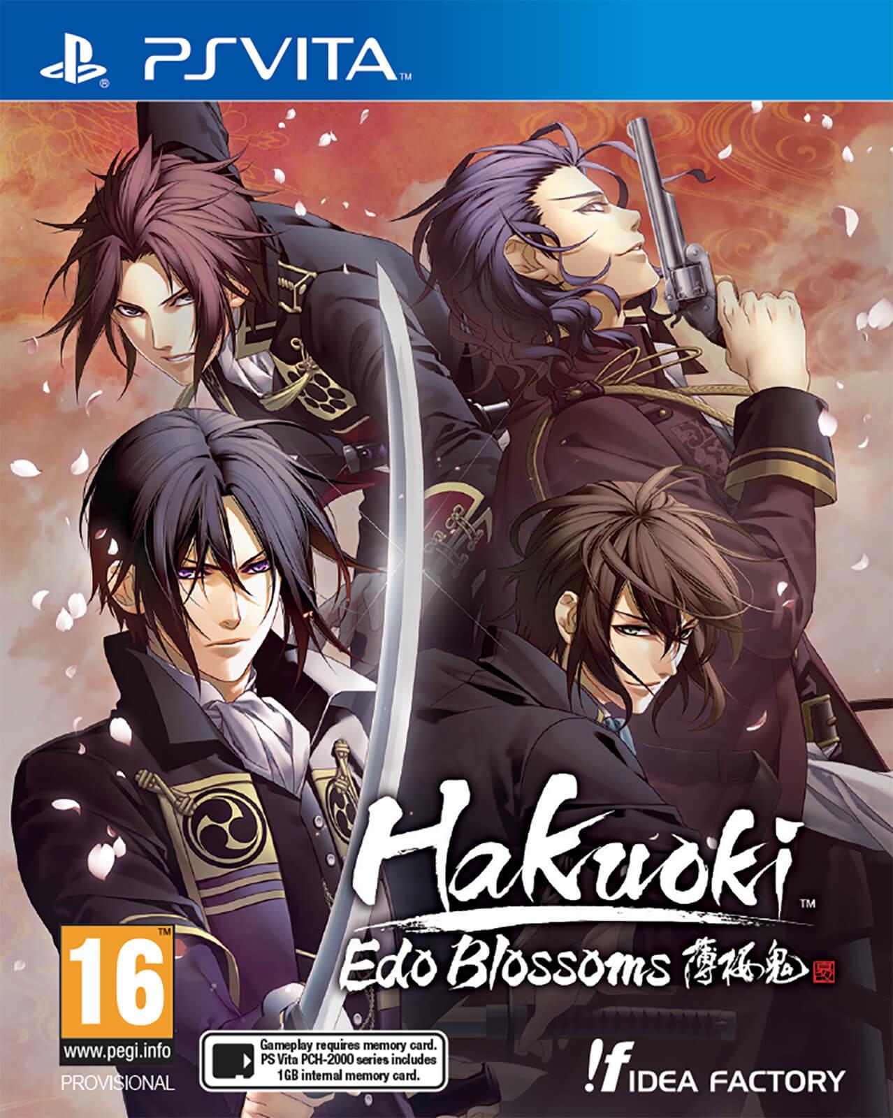NIS America Hakuoki Edo Blossoms