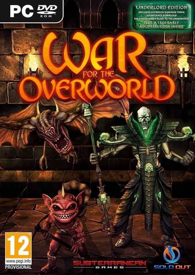 Sold Out Sales War for the Overworld: Underlord Edition